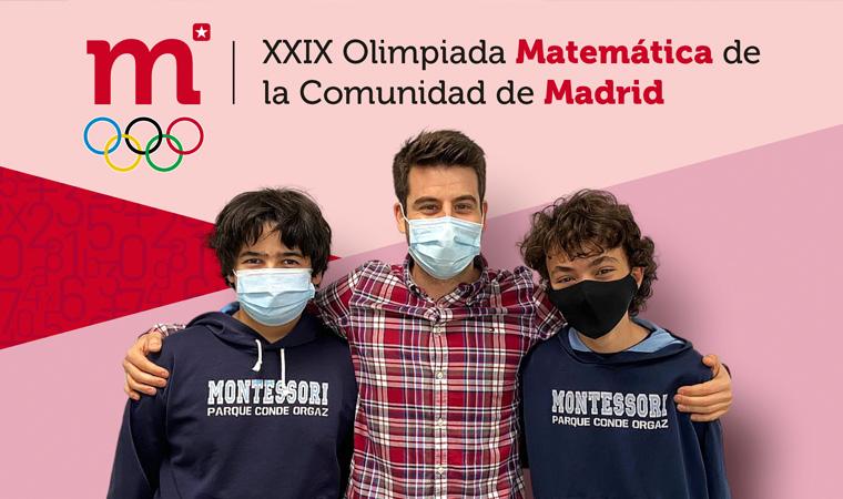 Alberto y Rodrigo en la Final de la Olimpiada de Matemáticas